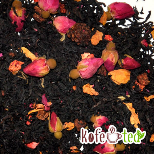 Чёрный чай с добавками Королевский