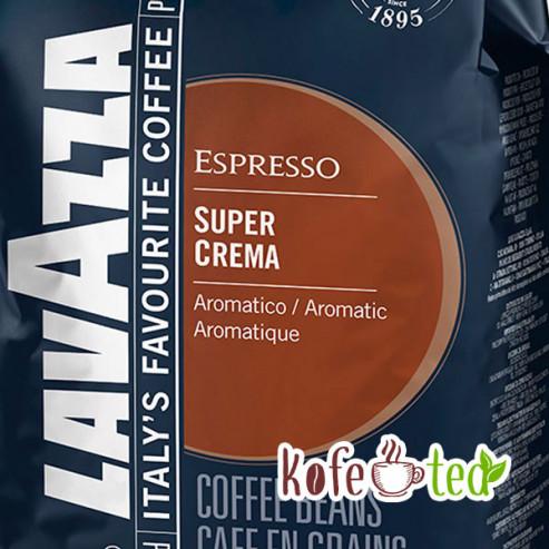 Кофе в зёрнах Lavazza SUPER CREMA