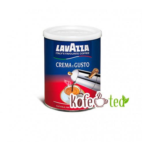 Молотый кофе Lavazza CREMA e GUSTO
